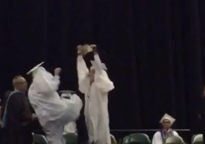 If You Want To See A Student Take A Stone Cold Stunner During Graduation, Gimme A Hell Yeah