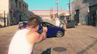 This Is What 'Grand Theft Auto V' Would Look Like If It Were Real Life