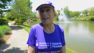 This 92-Year-Old Is Now The Oldest Woman To Finish A Marathon