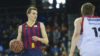 The Orlando Magic Select Mario Hezonja With The Fifth Pick In The NBA Draft