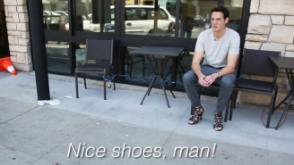 Watch This Dude Wear High Heels For A Whole Day And Hate Every Single Moment
