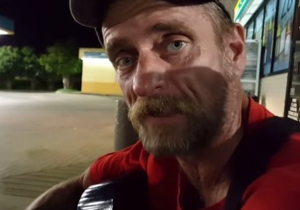 Watch As This World-Weary Man Explains What It's Like To Be Homeless