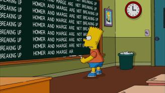 Homer And Marge Are Separating But Not Divorcing In 'The Simpsons' Premiere