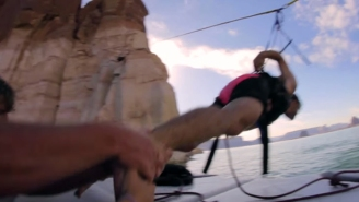 Here's Why Launching Yourself From A Human Slingshot Is A Bad Idea
