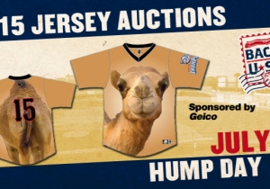 A Minor League Baseball Team Is Wearing Geico 'Hump Day' Jerseys