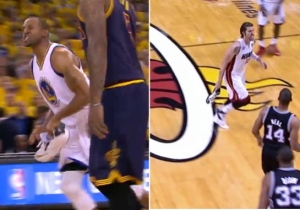 Who Drained The Finals 3-Pointer Better While Wearing One Sneaker: Andre Iguodala Or Mike Miller?