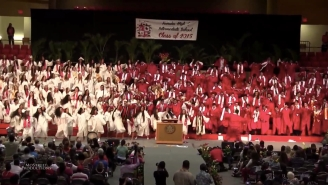 This Amazing High-School Graduation Ceremony Puts All Others To Shame