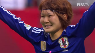 Watch Japan Pull Off A Brilliant Dummy Goal In The Women's World Cup