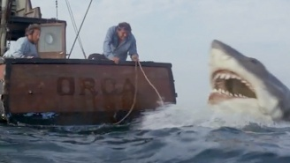 Celebrate The 40th Anniversary Of 'Jaws' By Watching The Film In Just Three Minute