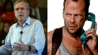 Someone Hid A Summary Of The 'Die Hard' Films In Jeb Bush's Website