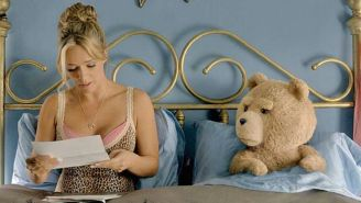 'Ted 2' star Jessica Barth on the hardest part of romancing a bear