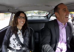 Watch Julia Louis-Dreyfus And Jerry Seinfeld Reminisce On 'Comedians In Cars Getting Coffee'