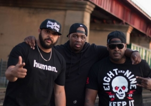 "Photos: Erick Sermon Shoots A Video For ""Make Room"" With Joell Ortiz & Sheek Louch"