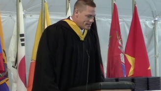 John Cena Delivered A Commencement Speech And Came To A Shocking Realization About Wrestling
