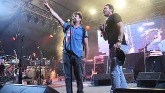 Here's Jon Hamm And Zach Galifianakis Singing 'We Are The World' At Bonnaroo