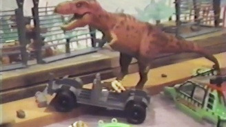 Two Kids Remade 'Jurassic Park' With Action Figures Back In 1993, And Here Is That Video