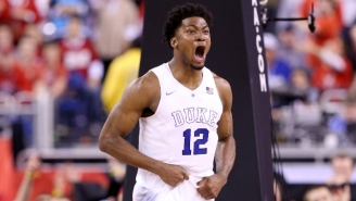 Justise Winslow's Draft Night Slip Ends With The Miami Heat At No. 10