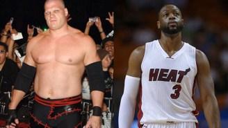 WWE's Kane Will Happily Chokeslam Dwyane Wade If He Leaves The Miami Heat