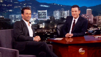 Jon Hamm Explained Why He Was Throwing Gummy Bears At Bonnaroo