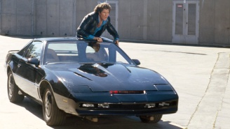 The Original KITT From 'Knight Rider' Is Hitting The Auction Block