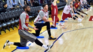 Kyrie Irving: 'I'm Going To Will Myself To Play' In NBA Finals Despite Knee Issues