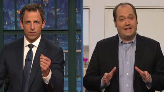 Seth Meyers Celebrated Patriot Act Provisions Expiring With A Group Of 'NSA Employees'