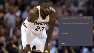 Check Out Nike's New Ad For LeBron James That Ran In The Cleveland Plain Dealer