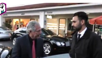 Watch The Head Of CBS Stiff A Valet Because He 'Only Has $100 Bills'