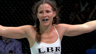 This UFC Fighter Delivered A Serious Beatdown After Someone Grabbed Her Friend's Butt