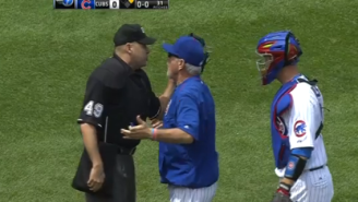 This Might Be The First Time An Ump Has Gone After A Player