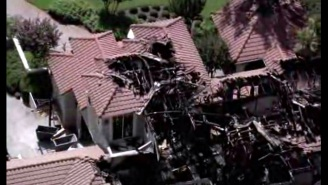 Lou Holtz's Mansion Was Destroyed By Possible Lightning Strike