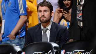 Watching Game 1 Affirmed Kevin Love's Commitment To Cleveland: 'I Want To Win'