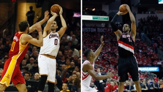 The Rockets Will Purportedly Seek Kevin Love And LaMarcus Aldridge In Free Agency