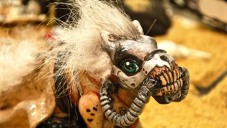 Good Luck Sleeping Tonight Because These 'Mad Max'/'My Little Pony' Mashup Dolls Are Nightmare Fuel