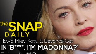 The Snap Daily: How Madonna got Beyonce in her new video
