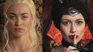 Princess Rap Battle just got hijacked by the Mother of Dragons and Mother of Evil