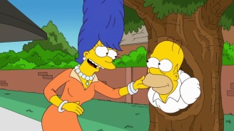 What If Marge And Homer Simpson Really Did Break Up?
