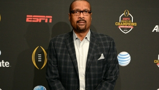 Say 'Goodbye' To Mark May And 'Hello' To Your New 'College Football Final' Cast