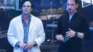Mark Ruffalo says Robert Downey, Jr. says he's in 'Captain America: Civil War' so…