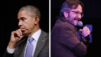 President Obama Will Be A Guest On Marc Maron's 'WTF' Podcast