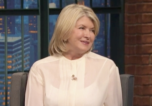 Martha Stewart Says She Didn't Smoke Pot With Snoop Dogg And Jeff Ross