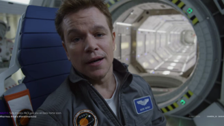 Astronaut Mark Watney Introduces The Crew Of The Ares 3 In The First Promo For 'The Martian'