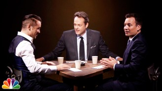 Colin Farrell And Vince Vaughn Play 'True Detective' And Interrogate Jimmy Fallon