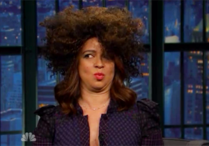 Watch Maya Rudolph Attempt To Recreate The Oddity Of Rachel Dolezal