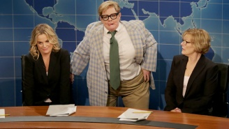 Melissa McCarthy Wore Chris Farley's Actual Matt Foley Suit On #SNL40