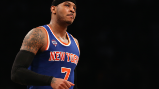 Carmelo Anthony Calls Kristaps Porzingis A 'Steal' And Defends The Knicks On Instagram