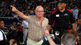 See Michael Keaton Pull A Batman And Confront A Heckler During A Pirates Game