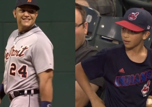 Watch This Little Kid Trash Talk Miguel Cabrera And Get An Unexpected Reward In Return