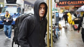 Review: USA's 'Mr. Robot' finds a compelling hero in Rami Malek