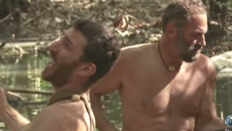 These Two Desperate Dudes Battle One Angry Electric Eel In The First Promo For Discovery's 'Naked And Afraid XL'